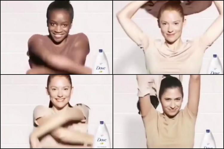 Dove racist ad